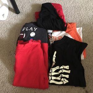 5pk boy shirts